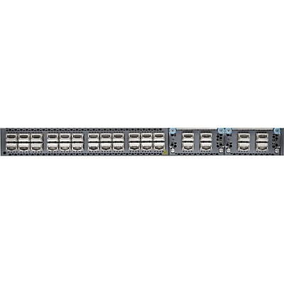 JUNIPER EX SERIES SWITCHING 24 Port QSFP Expansion 2 Slot Fans 2AC PS Front to Back