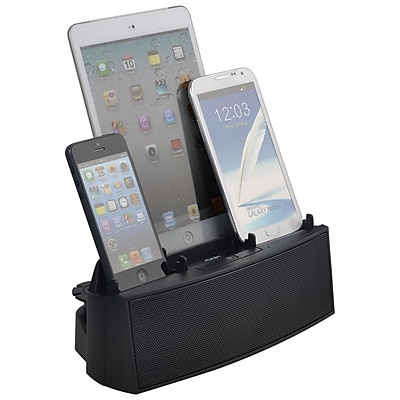 DOK™ 3 Port Smart Phone Charger With Speaker