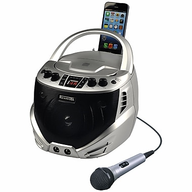 Karaoke USA GQ262 CDG Portable Karaoke Player