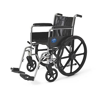 Medline Excel Wheelchair, Black