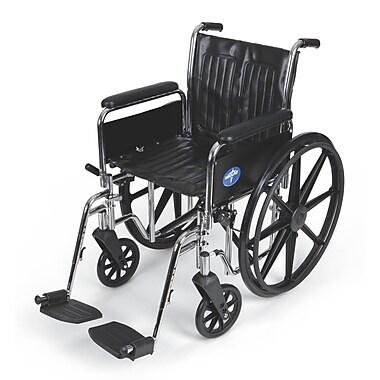 Medline Vinyl Wheelchair 36.61