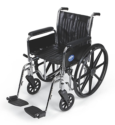 Medline Vinyl Wheelchair 36.61