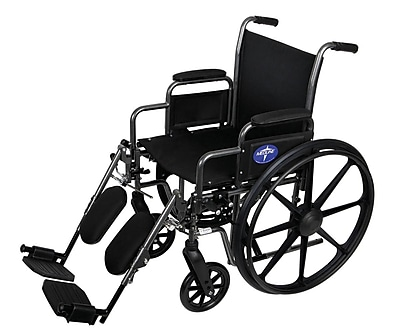 Medline Excel K1 Basic ExtraWide Wheelchairs