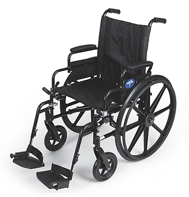 Medline Desk Arms and Foot Rest Lightweight Wheelchairs
