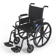 Medline K4 Lightweight Stainless Steel & Nylon Wheelchairs
