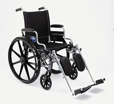 Medline K4 Basic Lightweight Carbon Steel Wheelchair