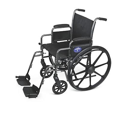 Medline Basic Lightweight Wheelchair, Gray