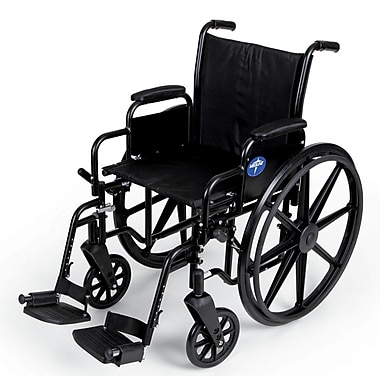 Medline K3 Basic Stainless Steel Lightweight Wheelchairs
