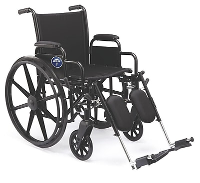 Medline K3 Basic Carbon Steel Lightweight Wheelchairs
