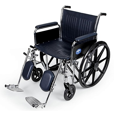 Medline Extra-Wide Wheelchairs