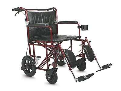 Medline Bariatric Nylon upholstery Transport Chair