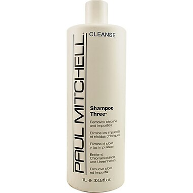 Paul Mitchell® Shampoo Three® Chlorine and Impurities Removable Shampoo, 33.8 oz.