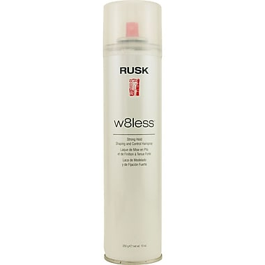 Rusk® Designer Collection™ W8less™ Strong Hold Shaping and Control Hair Spray, 10 oz.
