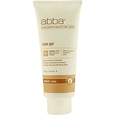 ABBA® Medium Hold Style Gel, 6.76 oz.
