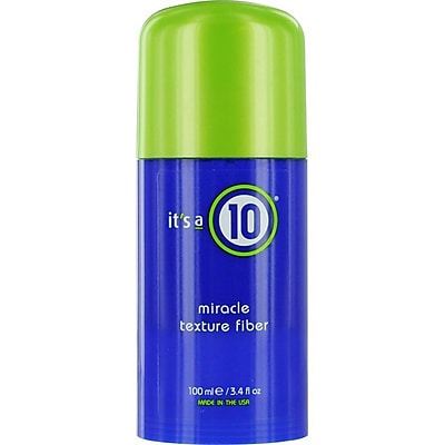 It's a 10® Miracle Texture Fiber, 3.4 oz.