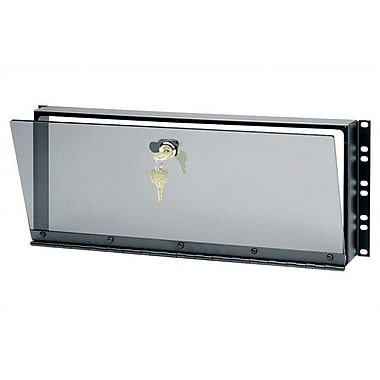 Middle Atlantic Hinged Plexiglass Security Cover for Rackmounts; 3 1/2'' H (2U space)