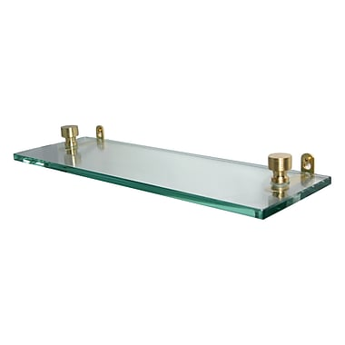 Allied Brass Universal Wall Shelf; Polished Chrome