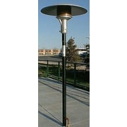 Sunglo Permanent 50,000 BTU Natural Gas Patio Heater; Stainless Steel