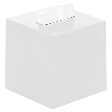 Gedy by Nameeks Rainbow Tissue Box Cover; White