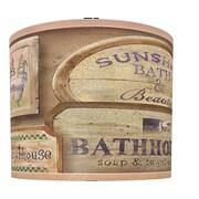 Illumalite Designs Bath House Vintage Drum Lamp Shade; 11''