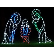 Queens of Christmas Nativity Scene LED Light Christmas Decoration
