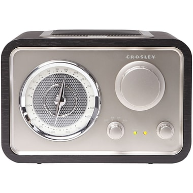 Crosley Radio Solo CR3003A-BK AM/FM Tabletop