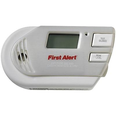 First Alert Explosive Gas & Carbon Monoxide GC01CN Alarm