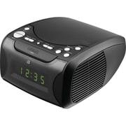 GPX – Radio-réveil CD à double alarme (GPXCC314B)