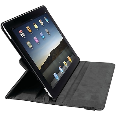 iessentials IEPADMSFBK Artificial Leather Folding Case for Apple iPad Mini, Black