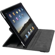 iessentials Artificial Leather Folding Case for Apple iPad Mini, Black (IEPADMSFBK)