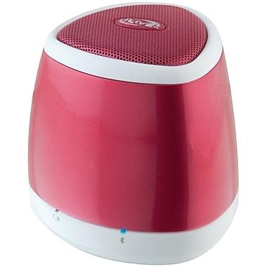 iLive – Haut-parleur Blue Bluetooth portatif ISB23R, rouge
