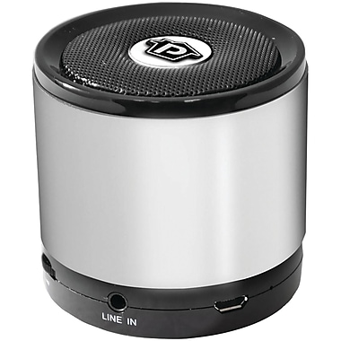 Pyle-Home Bluetooth PBS2SL Mini Speaker, Silver