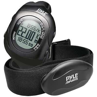 Pyle-Sport Bluetooth PSBTHR70BK Heart Rate Monitoring Watch