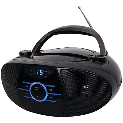 Jensen JENCD560 Portable Stereo CD Player with AM/FM Stereo Radio and Bluetooth