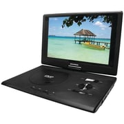 Sylvania Swivel Screen SDVD1332 Portable DVD Player with USB/SD Card Reader