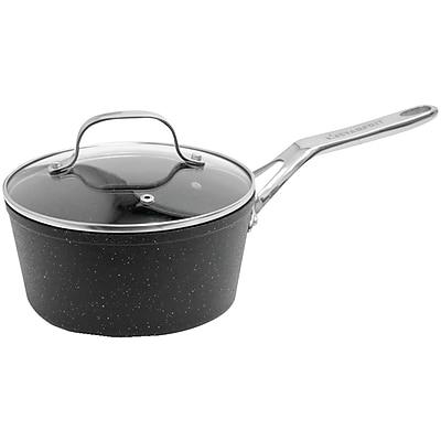 Starfrit® The Rock Saucepan With Glass Lid (2-quart)