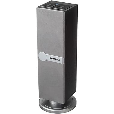 Sylvania Bluetooth SP269 SILVER Mini Tower Speaker