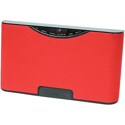 Sylvania Bluetooth SP5686 RED Usb Wireless Speaker, Red