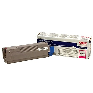 Okidata 43324402 Magenta Toner Cartridge, Type C8