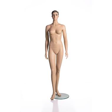 Mannequin femme adulte de la collection RP, avec chevelure moulée, couleur de peau blanche (RPFM 1)