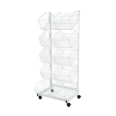 Can-Bramar 5-Tier Mobile Merchandiser, 18