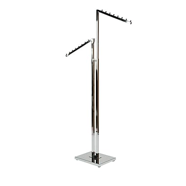 Can-Bramar 2-Way Rack with Slanted Arms, Chrome (R24)