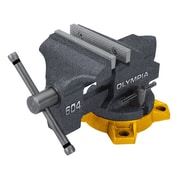 Olympia Tools Steel Bench Vise, 4""