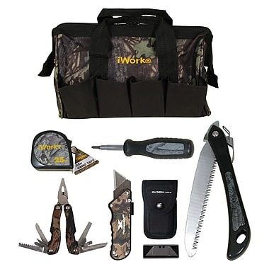 iWORK Camo Tool Set with Ergonomic Grips