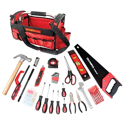 Olympia Tools 52 Piece Construction Tool Set with Storage Bag