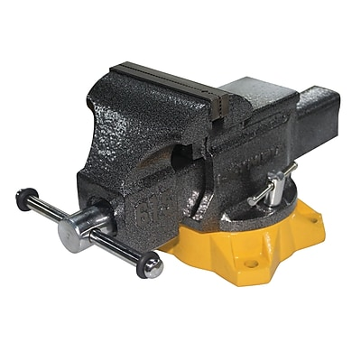 Olympia Tools Steel Mechanic'S Bench Vise, 5