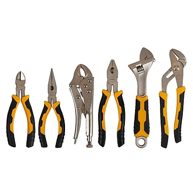 Olympia Tools Plier and Adjustable Wrench, 6 Pieces