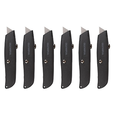 Olympia Tools Retractable Utility Knife Set