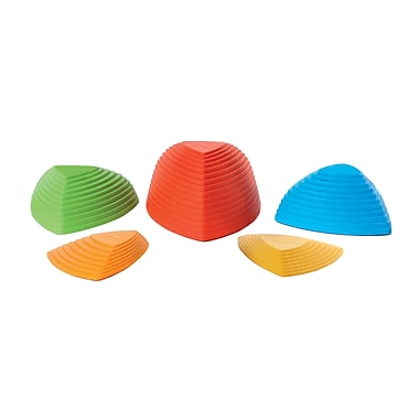 American Educational Products – Poutres d'équilibre Hilltops, 5/pqt (AEPG2121)