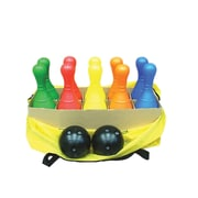 American Educational Products Plastic Bowling Set with Pins And Bowling Balls (AEPYTB122)
